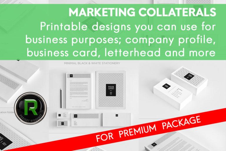 brand identity - marketing collaterals