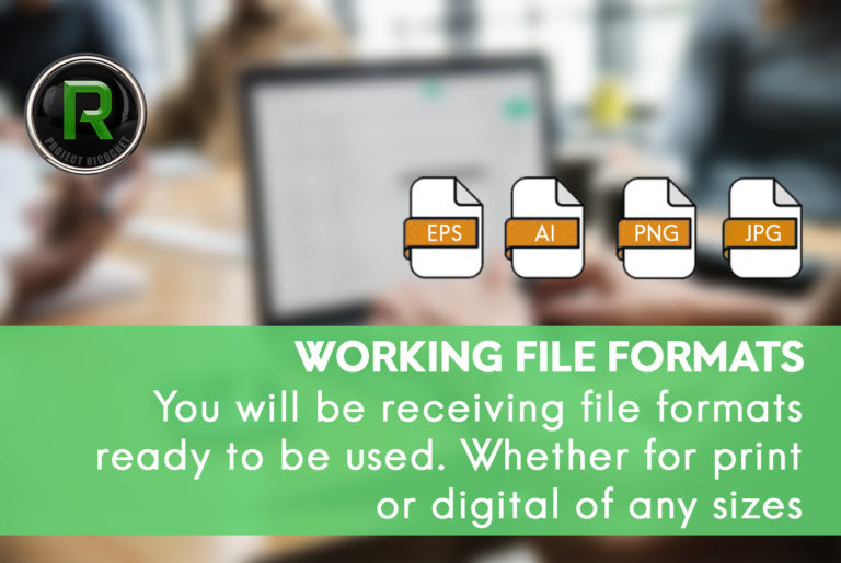 brand identity - working file formats