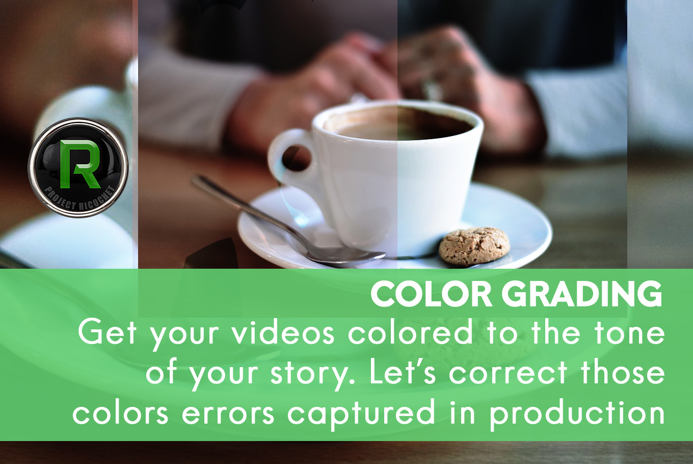 video and mograph - color grading
