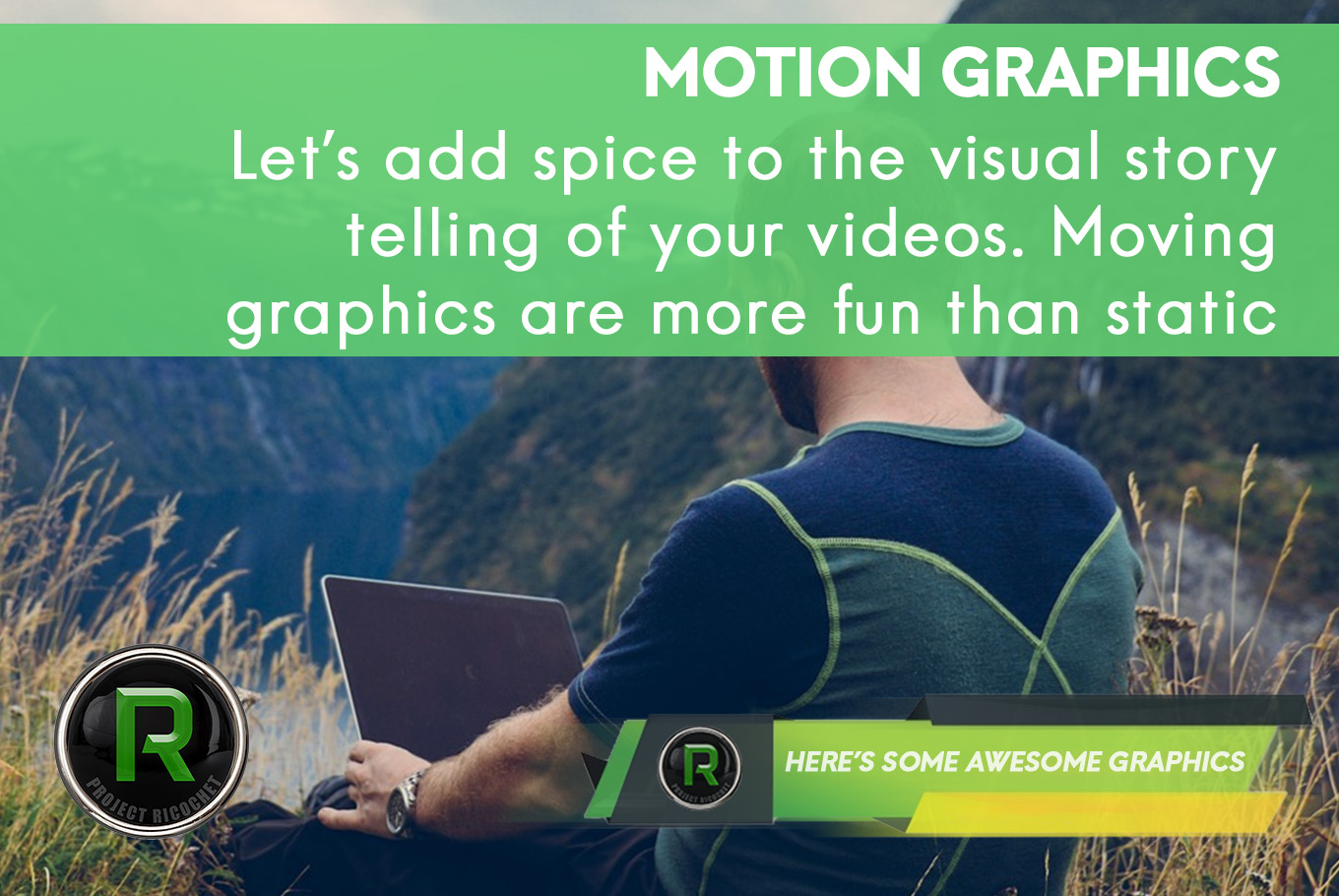 video and mograph - motion graphics